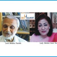 An Iinvisible Hand Guided My Destiny Says Lord Bhikhu Parekh At A Lively Online Session Of Ek Mulakat Organized By Prabha Khaitan Foundation