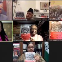 "Kitab Launches Shashi Tharoor's Book  ""The Battle of Belonging""  Literary Bigwigs – politicians Attend Online Event Hosted By Prabha Khaitan Foundation"